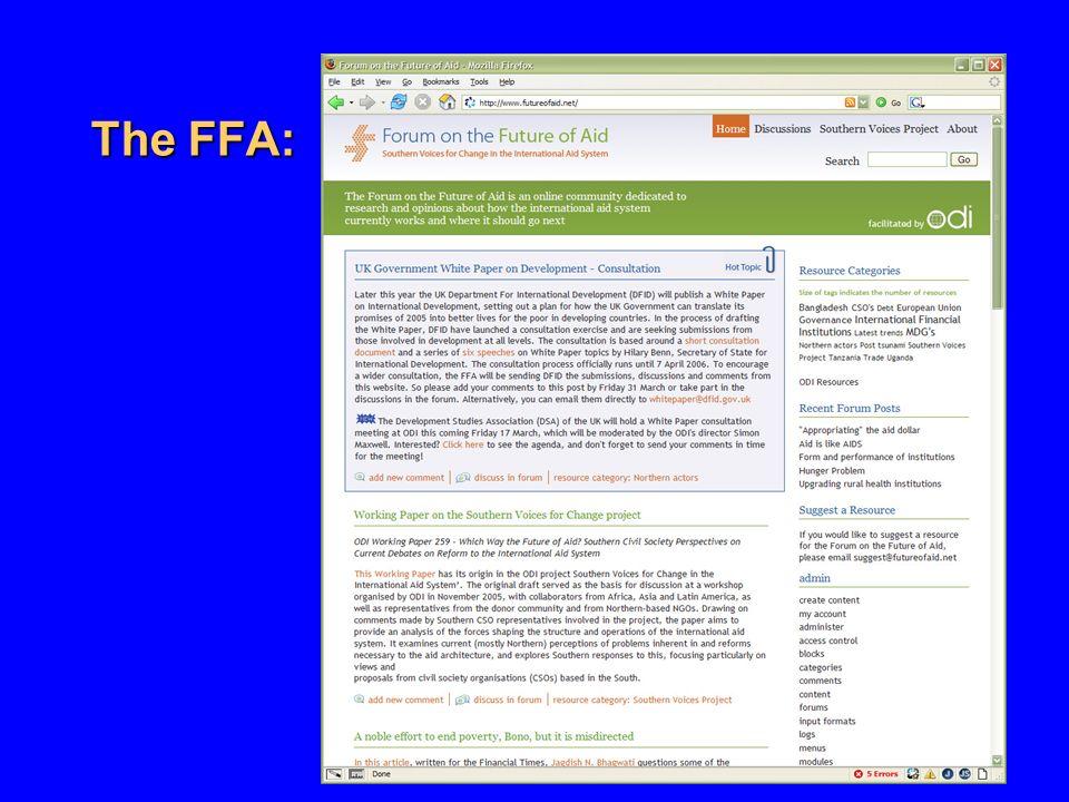 The FFA:
