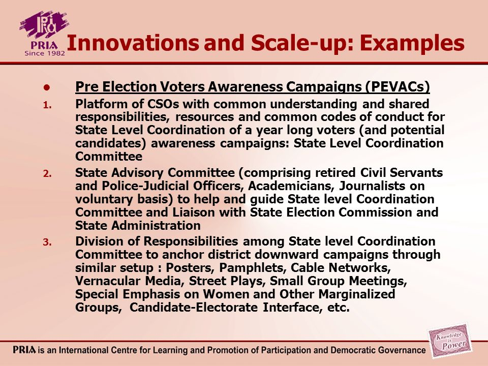 Impacts of PEVACs (Studied by Academic Institutions) At State level: 1.