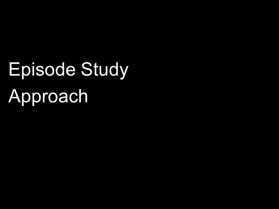 Episode Study Approach