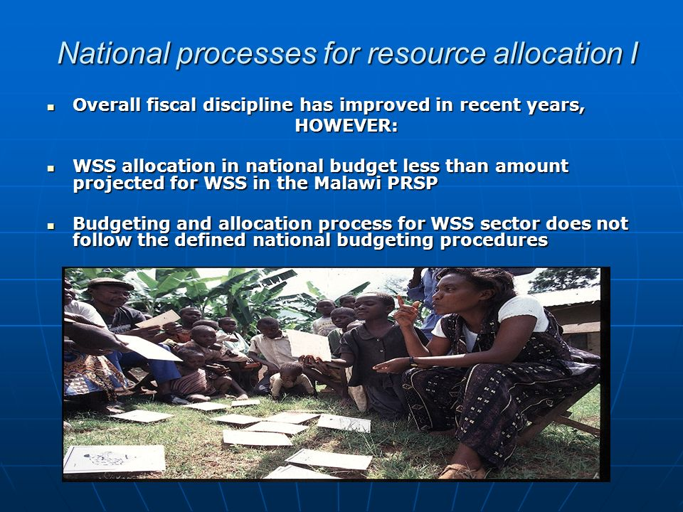 National processes for resource allocation I Overall fiscal discipline has improved in recent years, Overall fiscal discipline has improved in recent