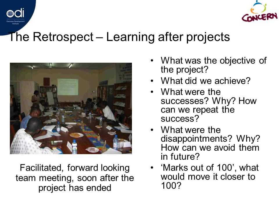 What was the objective of the project. What did we achieve.