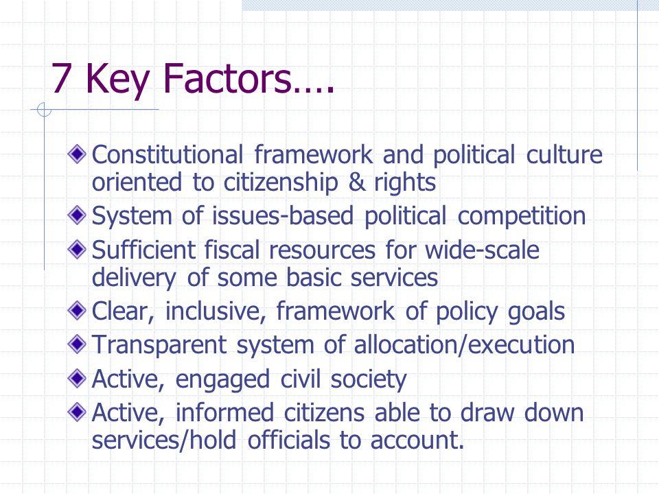 7 Key Factors….
