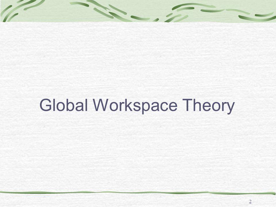 2 Global Workspace Theory