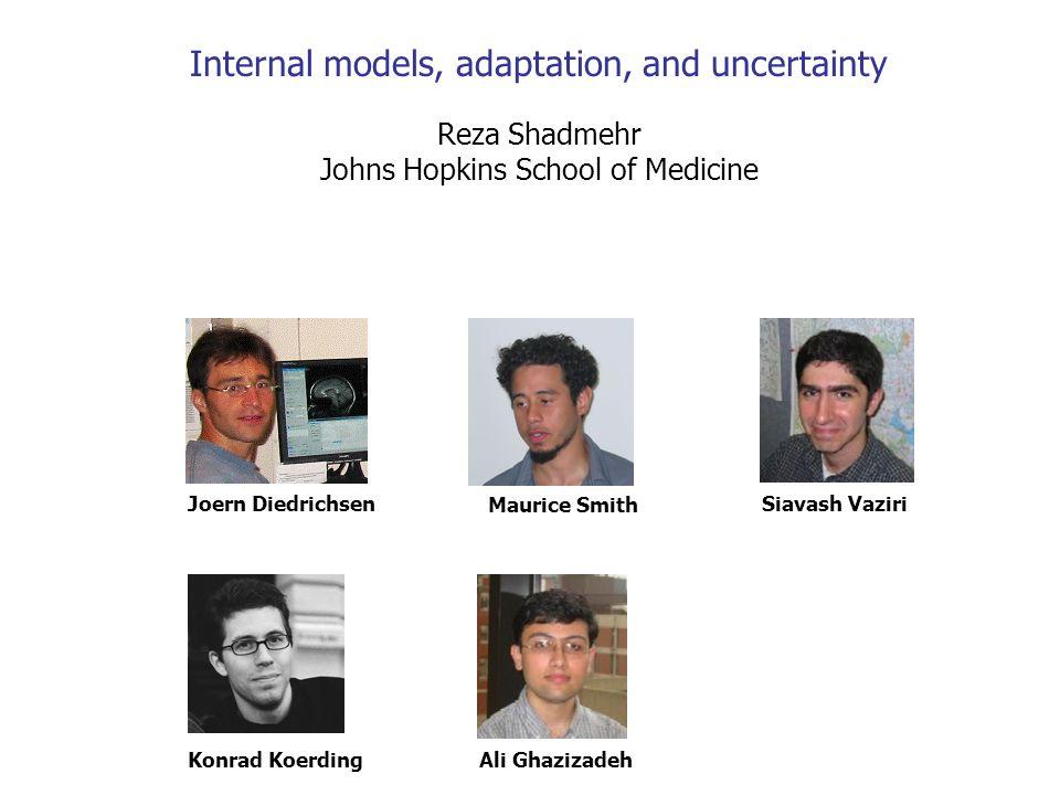 A Hidden states Context perturbation Slow change fast change The Bayesian learners interpretation of prediction error