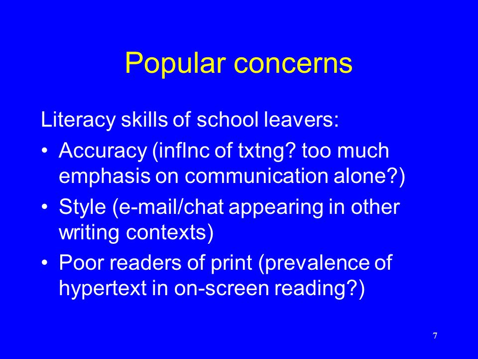 8 Primary School The National Literacy Framework: word, sentence, text strands for each year group The daily Literacy Hour: 15 mins whole class shared text work 15 mins whole class focused word work 20 mins group & independent work 10 mins whole class review/reflection