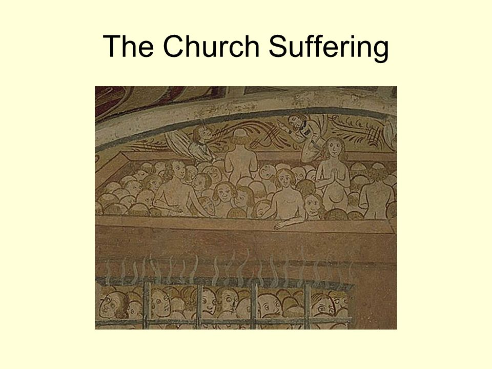 The Church Suffering