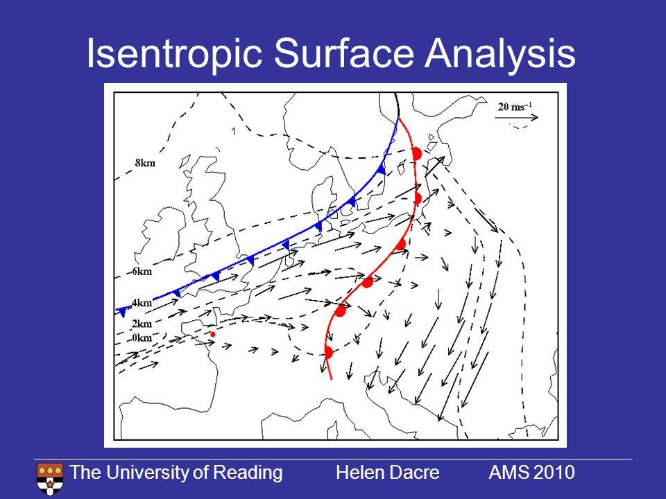 The University of Reading Helen Dacre AMS 2010 Horizontal Tracer Transport 15/11/94 03 UTC16/11/94 03 UTC15/11/94 15 UTC UM OBS