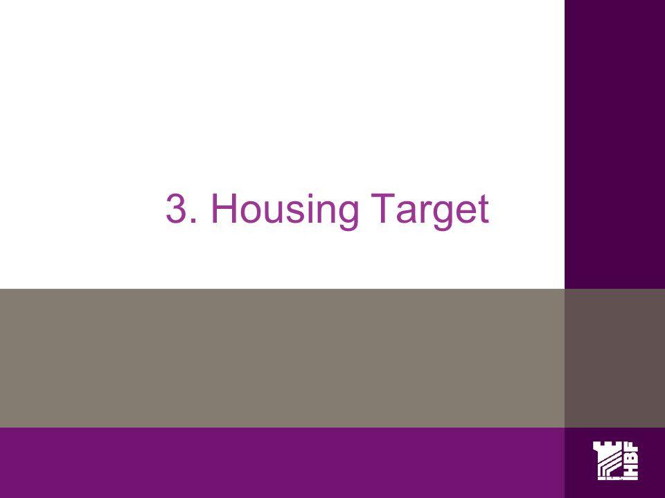 3. Housing Target