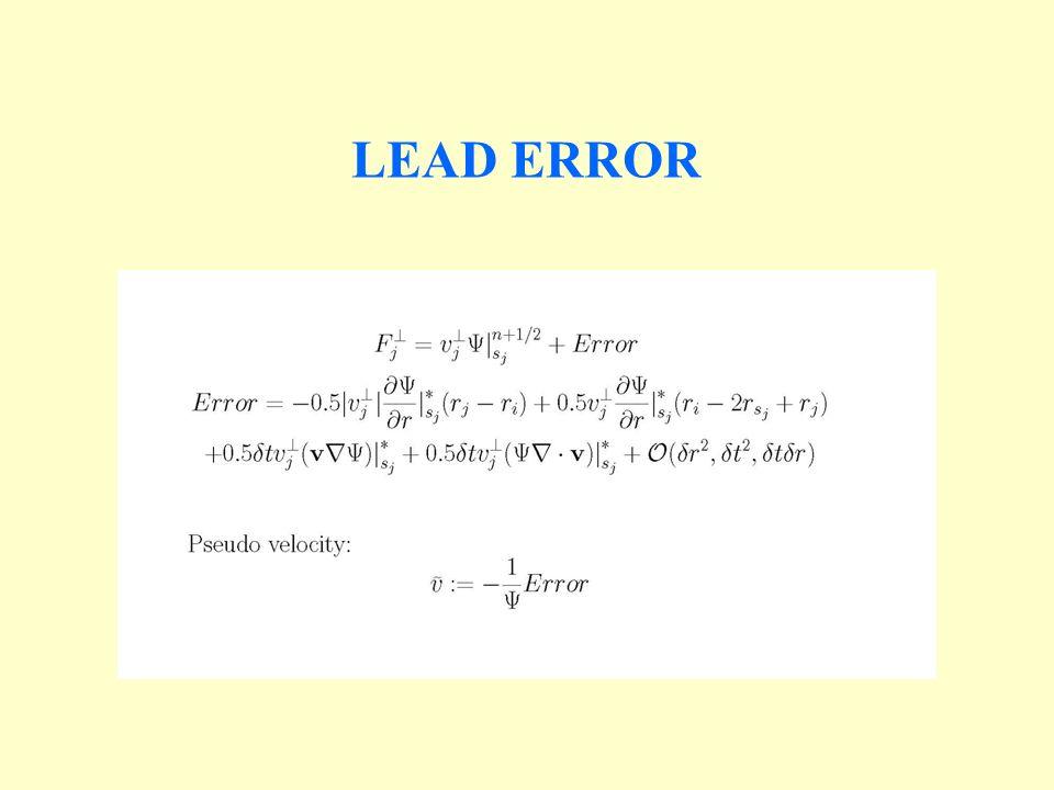 LEAD ERROR
