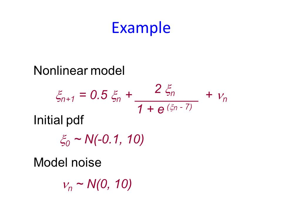 Filters maximize the marginal pdf These are not the same for nonlinear problems !!! Smoothers maximize the joint pdf