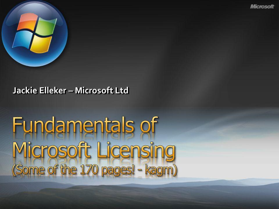 Jackie Elleker – Microsoft Ltd