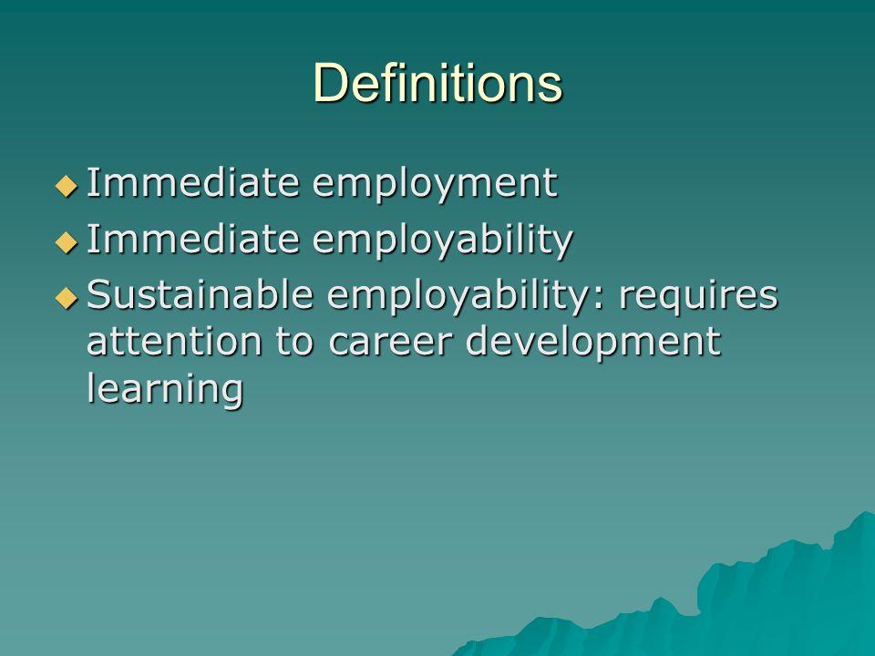 Terminology Career(s) education (e.g.DOTS) Career(s) education (e.g.