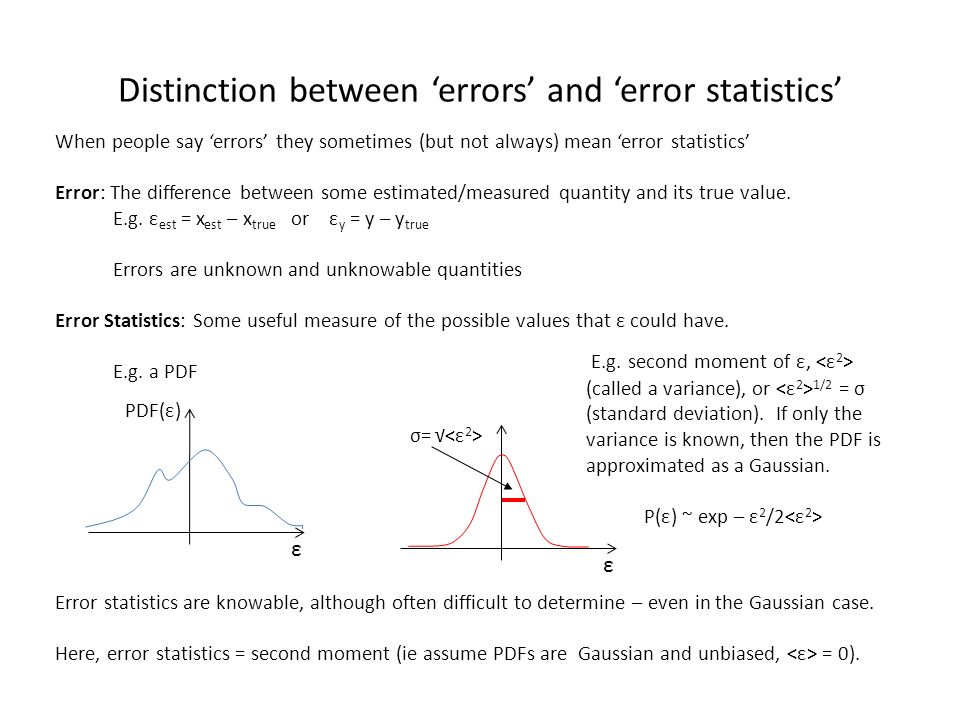 A B1 B2 C D E F G1 G2 G3 H I J K1 K2 K3 L Distinction between errors and error statistics When people say errors they sometimes (but not always) mean