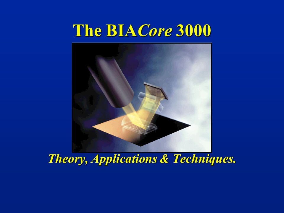 The BIACore 3000 Theory, Applications & Techniques.