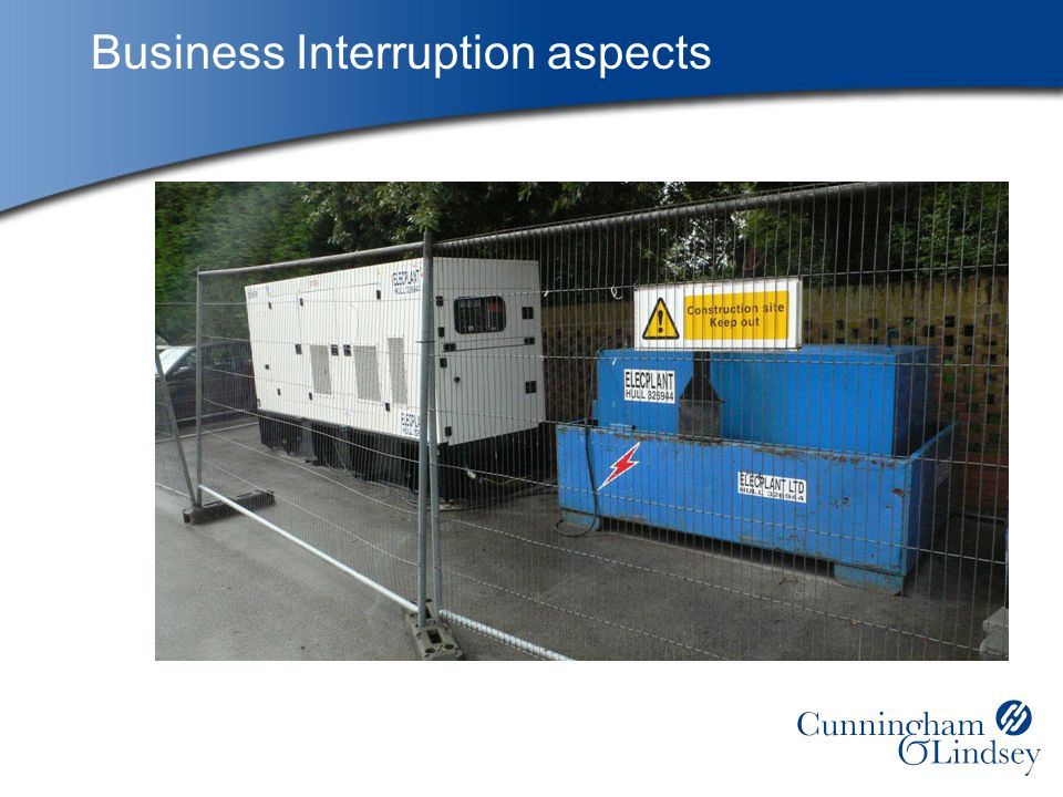 Business Interruption aspects