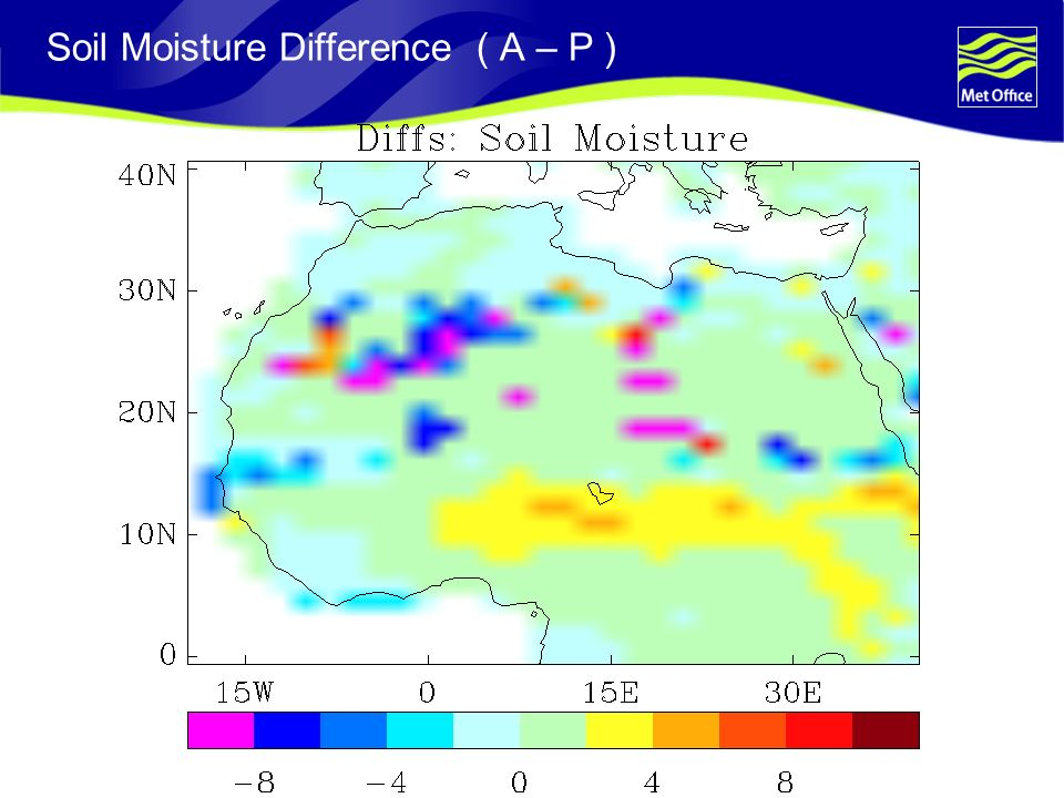 Soil Moisture Difference ( A – P )
