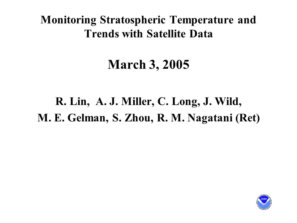Major Elements Total Ozone: SBUV/(/2) 1979-2004 Temperature Profiles: SSU 1979-2004 Temperature: MSU(4) 1979-2004 Question: In an atmosphere where ozone is recovering and CO2 increasing, how do we separate temperature impacts?
