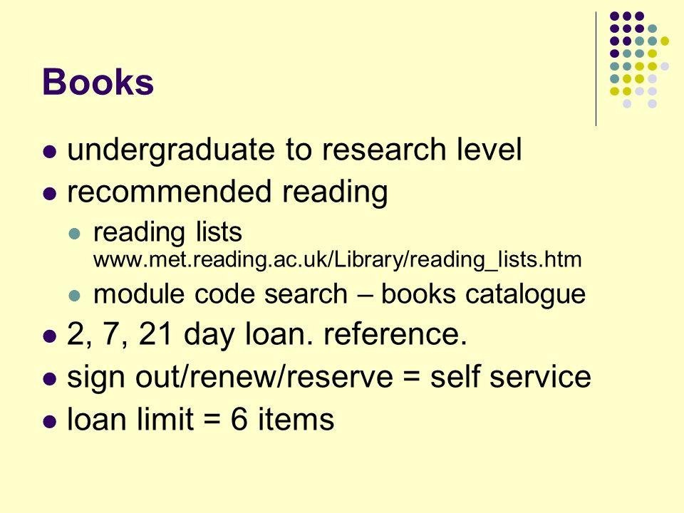 Other resources… Journals (periodicals, magazines…) 30 core print journals + newsletters (ref.