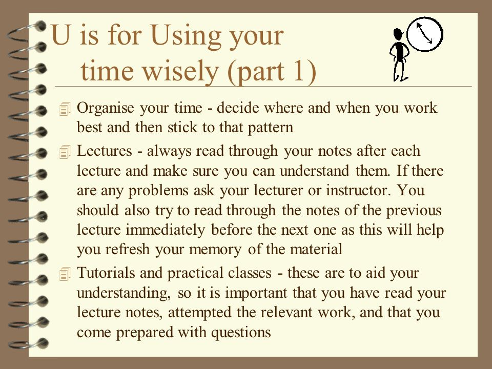 T is for Tutorial support The weekly tutorial arrangements for your modules are as follows 4 MA11A,D - one hour practical class for each subject 4 MA1