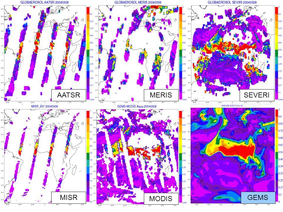 R. Forbes, 17 Nov 09 ECMWF Clouds and Radiation University of Reading AATSRMERISSEVERI MISR MODIS GEMS