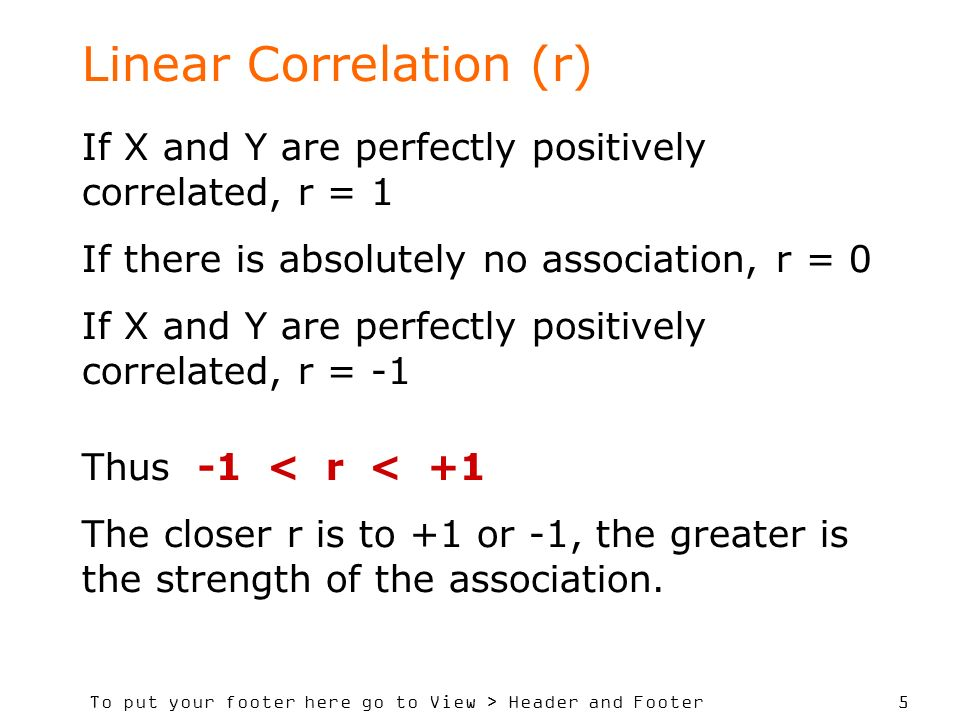 To put your footer here go to View > Header and Footer 6 Possible values for r
