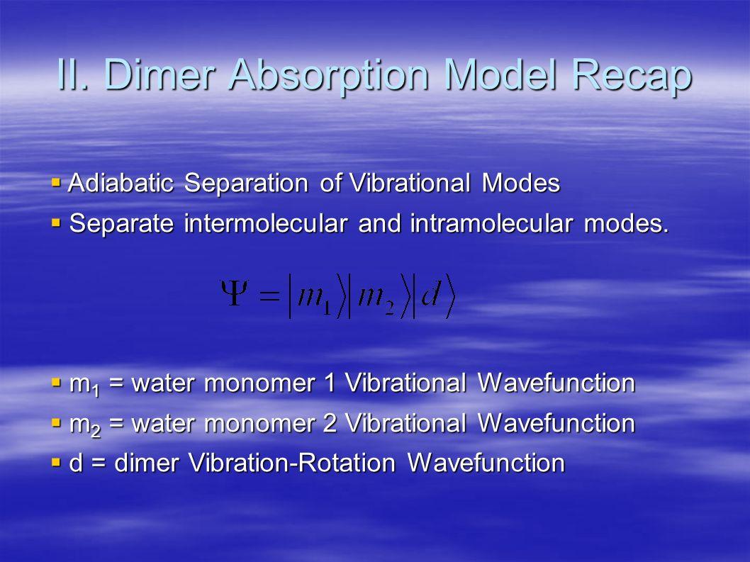 Transition: Transition: Approximation: Approximation: (Franck Condon type).