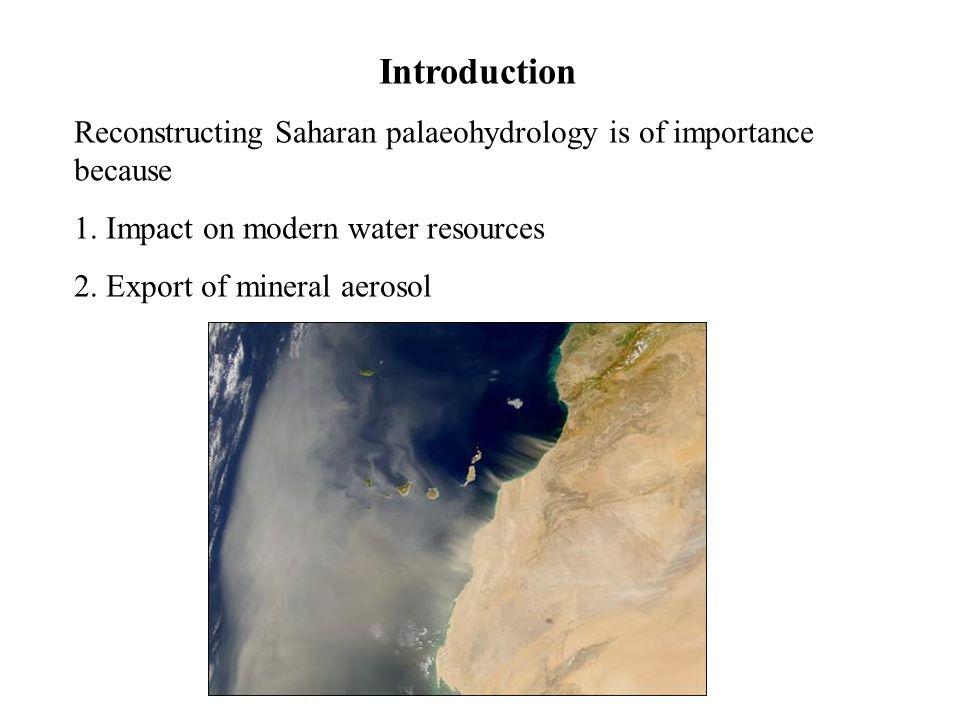 Interdunes in the Ubari sand sea (ca.500m a.s.l.), higher mesas 118 +27–20, 47 +17–13 and 14.3 +1.7–1.7 ka.