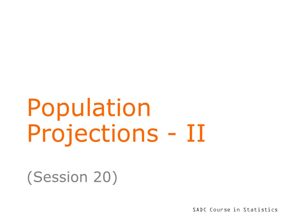 To put your footer here go to View > Header and Footer 2 Learning Objectives – this session At the end of this session, you will be able to discuss specimen ways in which population projections can be used in administration understand some complexities of forecasting variable components such as migration appreciate that projecting components of the PP process can utilise many types of available information enjoy exploring more about demographic literature on your own!