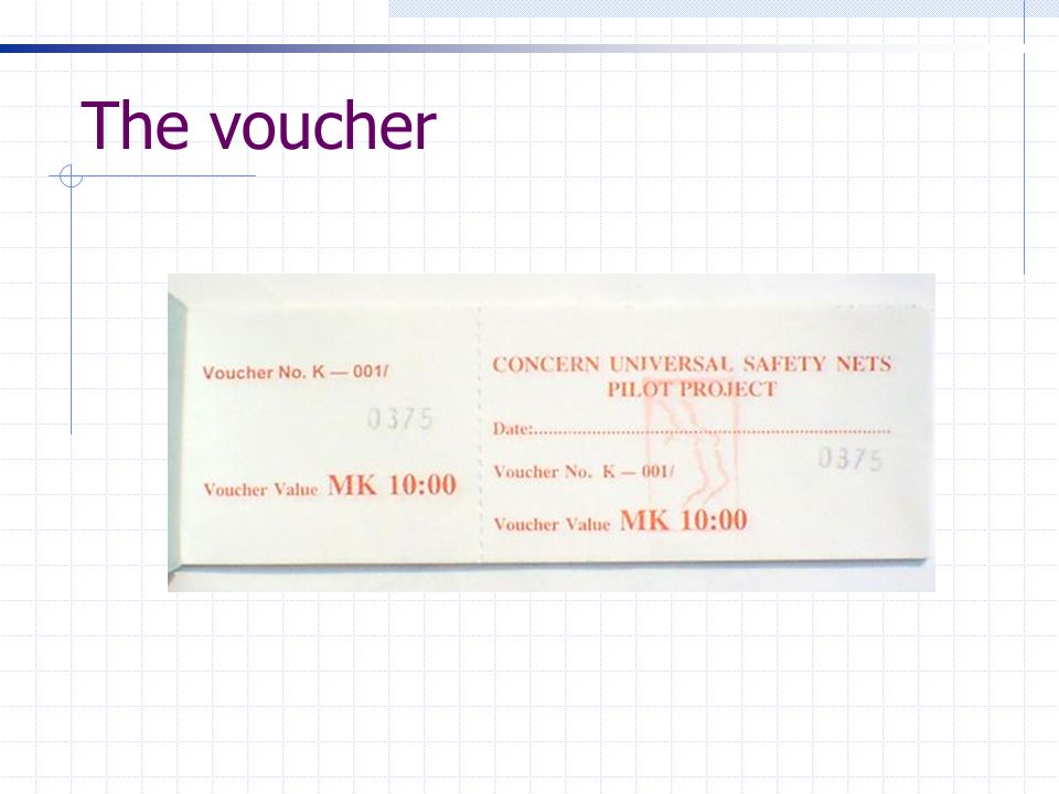 The voucher