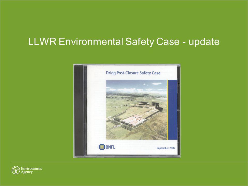LLWR Environmental Safety Case - update