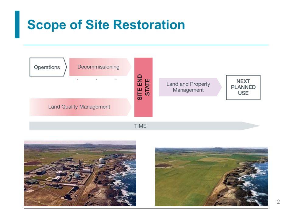 2 Scope of Site Restoration