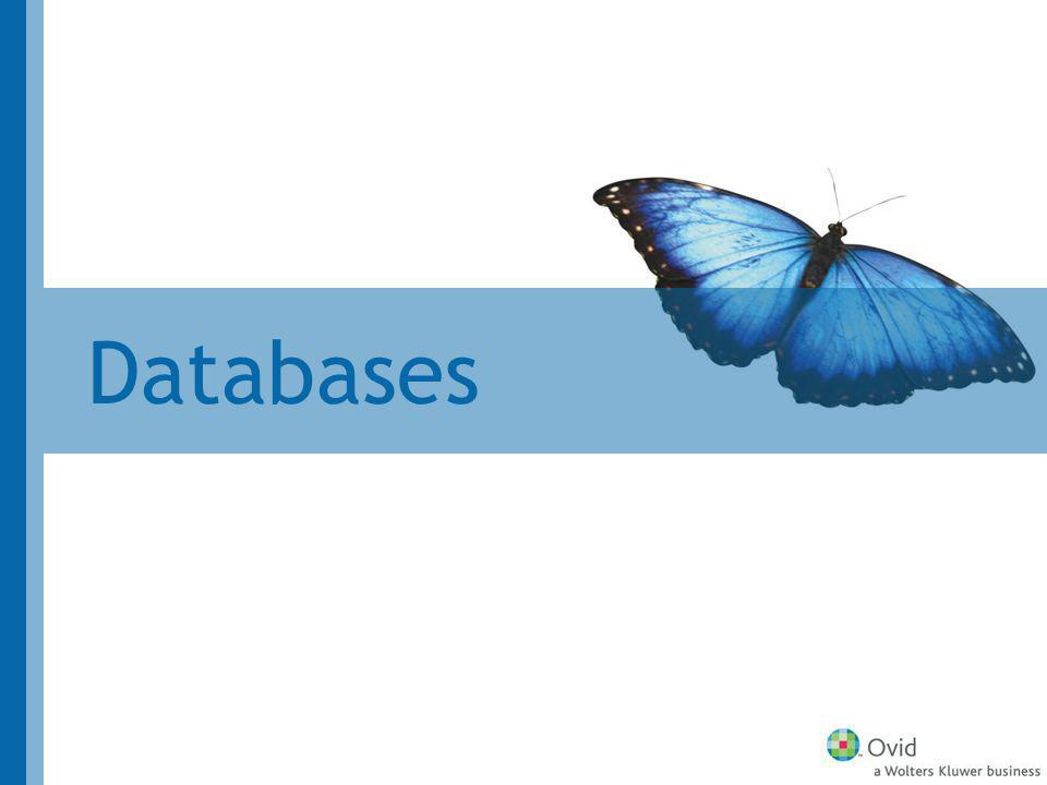 Evidence Based Medicine Reviews Enhancements in 2007 PDFs of Cochrane Database of Systematic Reviews Further Cochrane DB segment loads Cochrane Database of Methodology Reviews Cochrane Methodology Register Health Technology Assessment Register Database NHS Economic Evaluation Database Limit to evidence-based medicine Full Text for additional databases