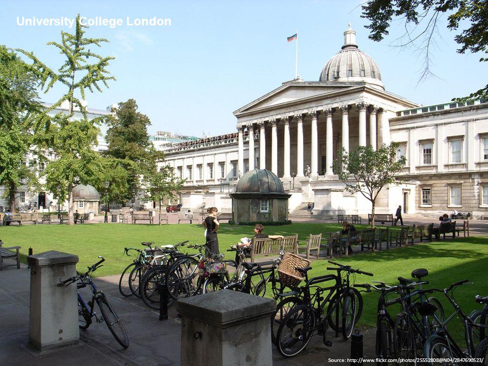 Source: http://www.flickr.com/photos/25552808@N04/2847690523/ University College London