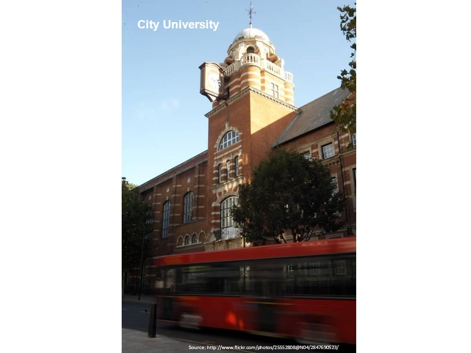 Source: http://www.flickr.com/photos/25552808@N04/2847690523/ City University
