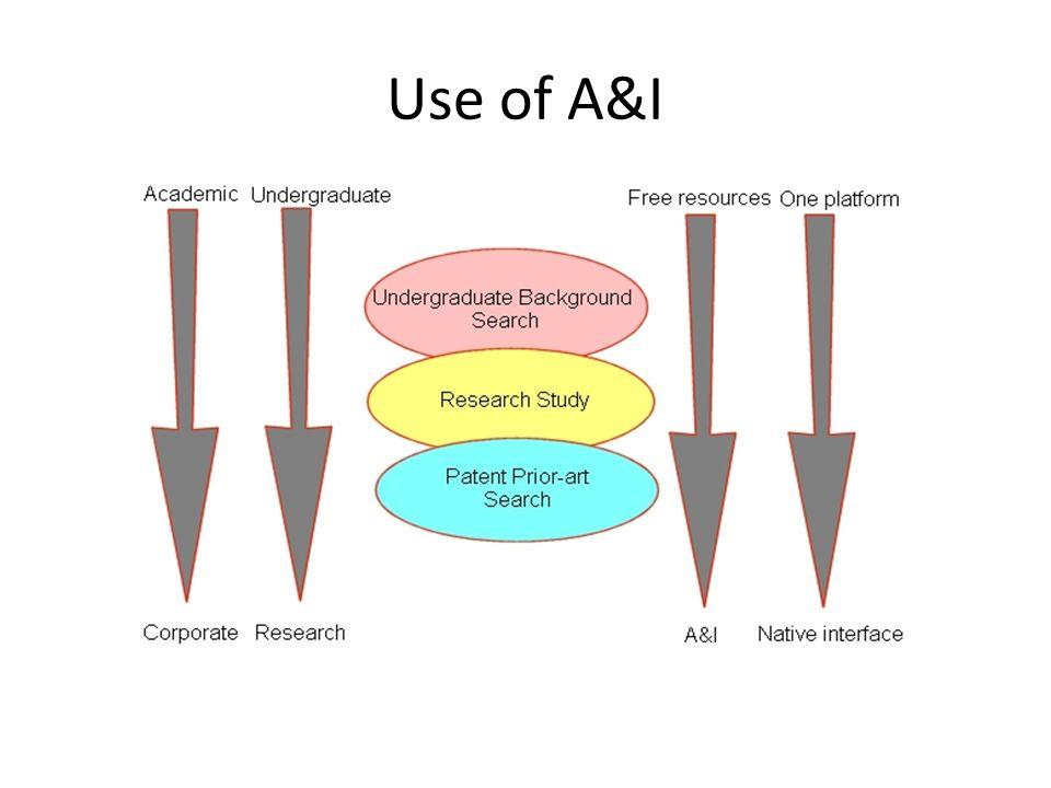Use of A&I