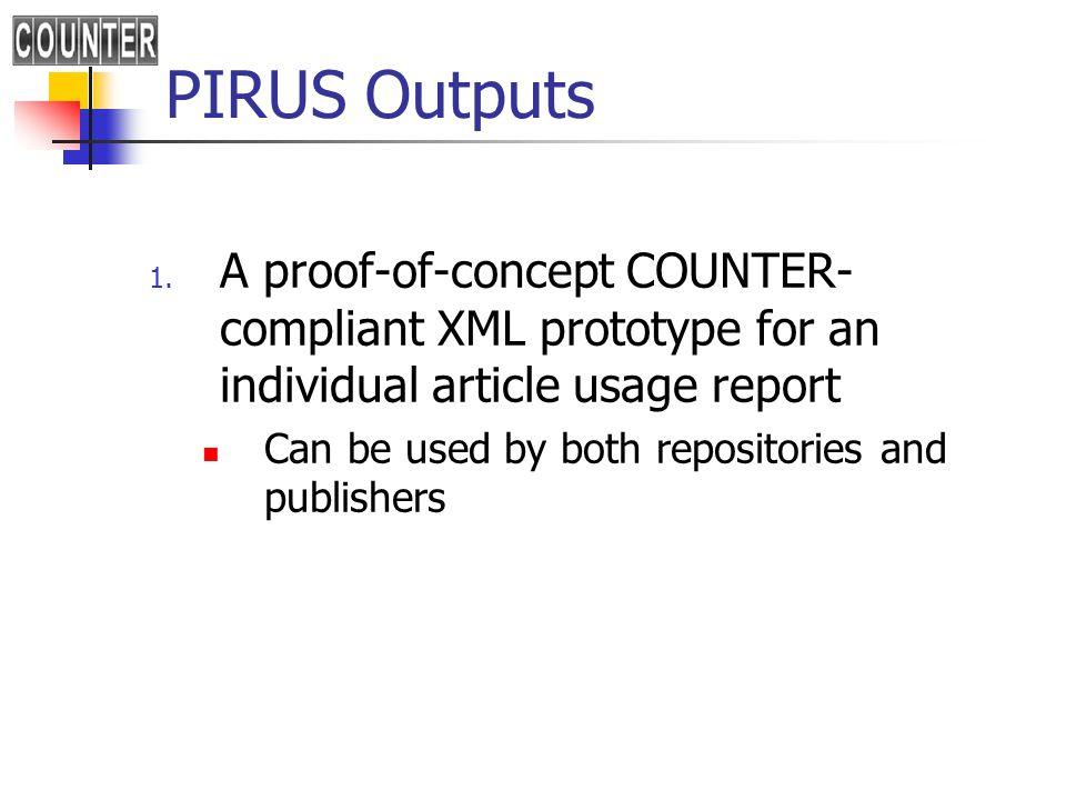 PIRUS outputs 2.