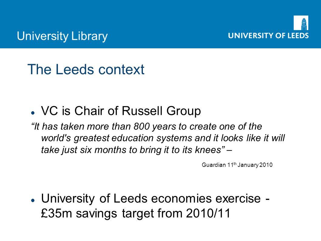 University Library Journal use