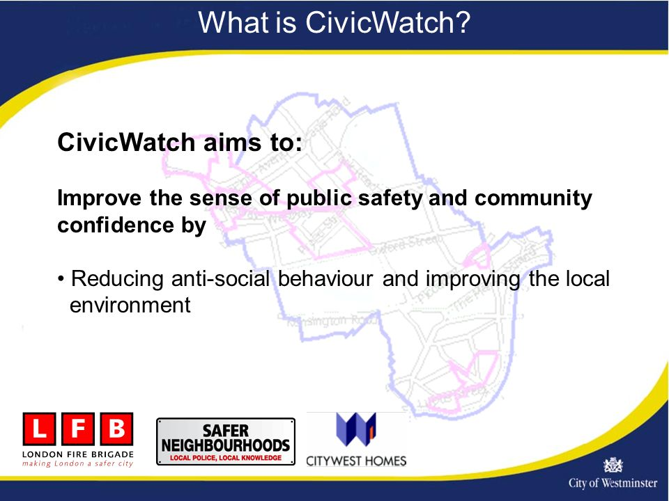 What is CivicWatch.
