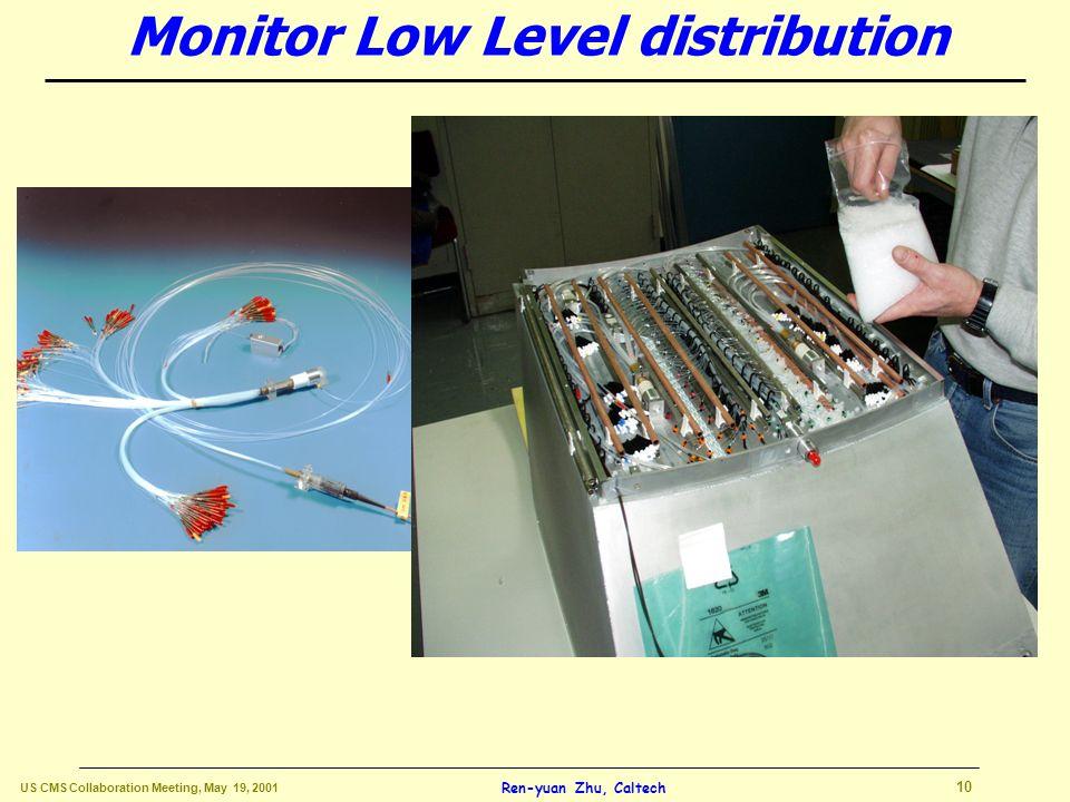 US CMS Collaboration Meeting, May 19, 2001 9 Ren-yuan Zhu, Caltech Long holes option chosen Barrel Mechanics