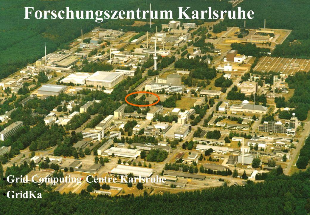 GridKa May 2004 Forschungszentrum Karlsruhe in der Helmholtz-Gemeinschaft Forschungszentrum Karlsruhe Grid Computing Centre Karlsruhe GridKa