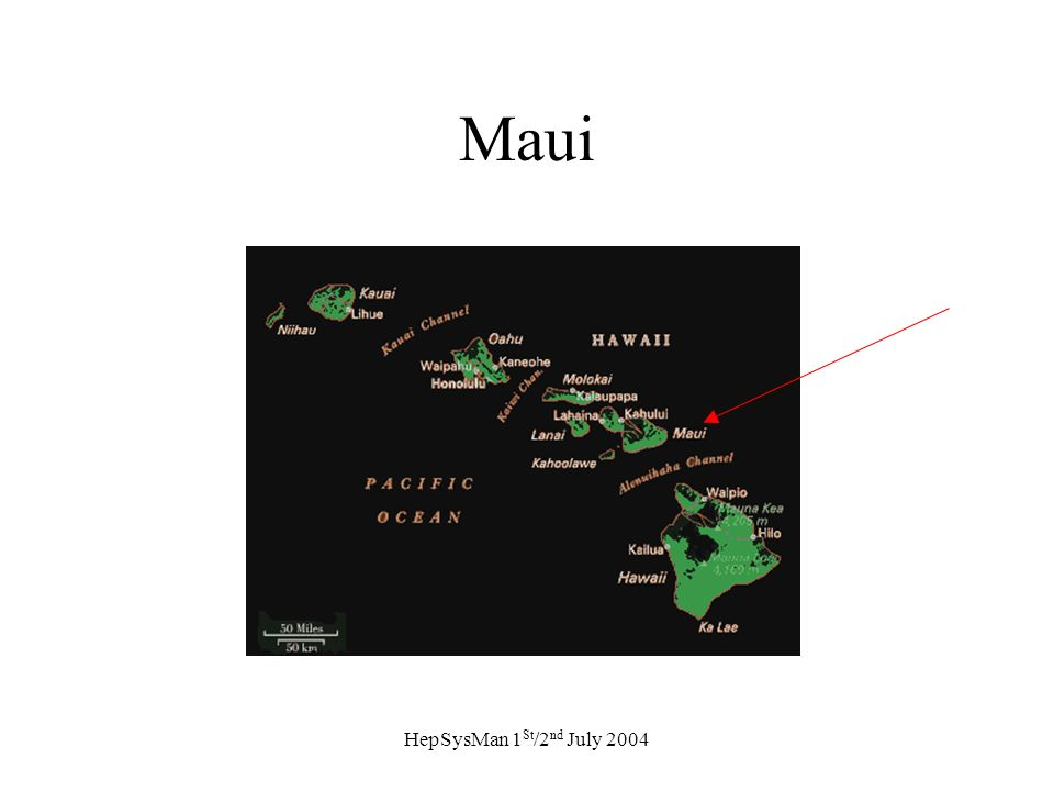 HepSysMan 1 St /2 nd July 2004 Maui