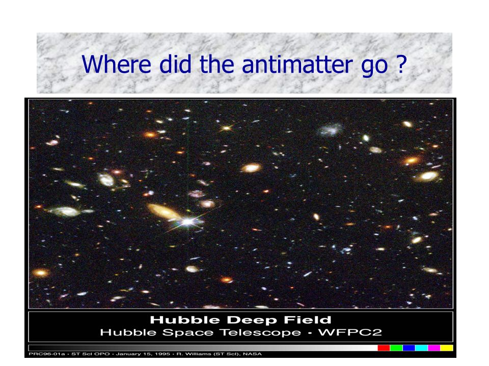 Bruce Kennedy, RAL PPD Where did the antimatter go .