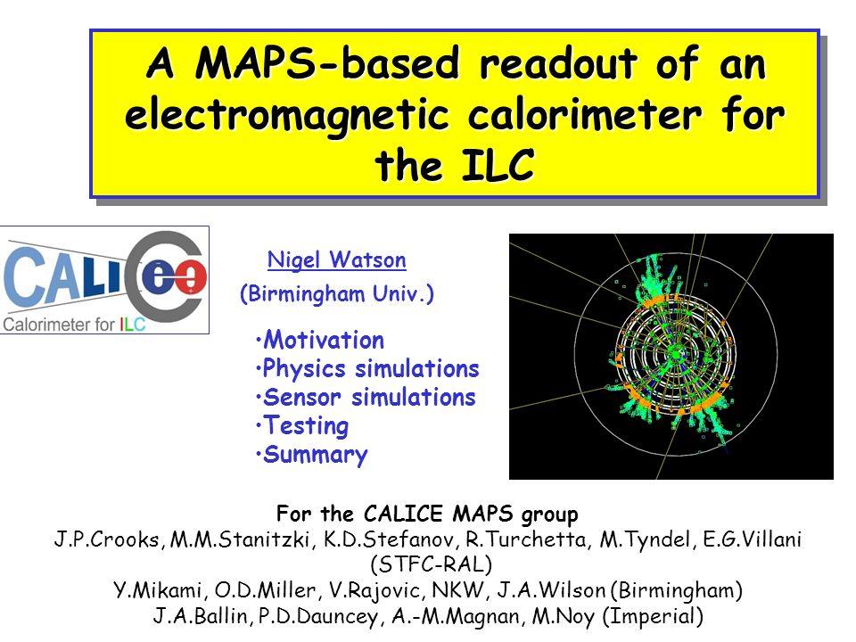 EPS 07, 19-Jul-2007Nigel Watson / Birmingham Architectures on ASIC1 PresamplerPreshaper Type dependant area: capacitors, and big resistor or monostable
