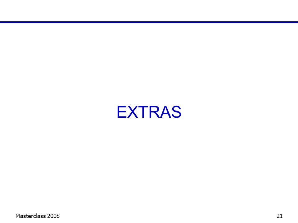 Masterclass 200821 EXTRAS