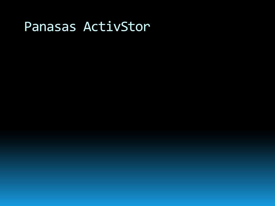 Panasas ActivStor