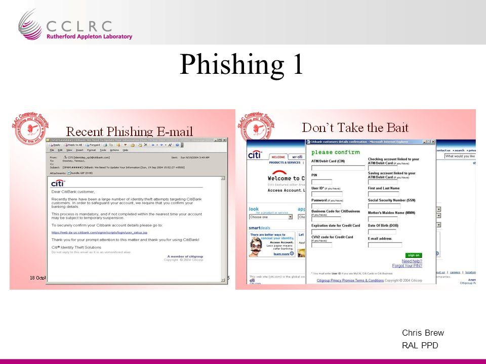 Chris Brew RAL PPD Phishing 1