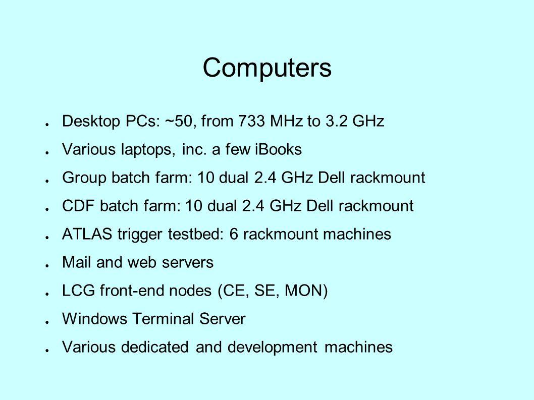 UCL HEP Computing Status HEPSYSMAN, RAL, 2005-04-27