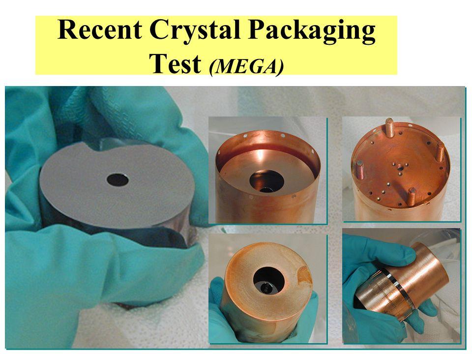 Steve Elliott, UK Forum 2003 Recent Crystal Packaging Test (MEGA)