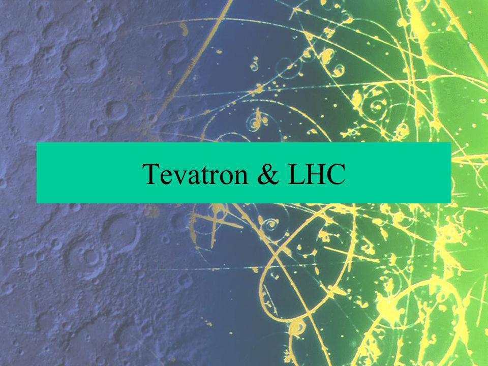 Tevatron & LHC