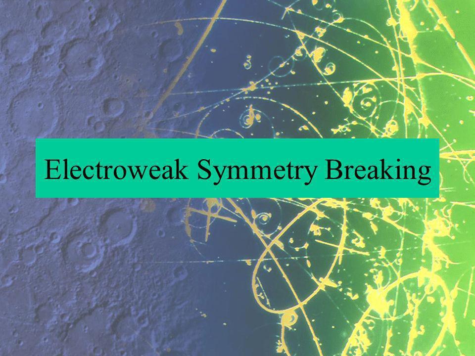 Electroweak Symmetry Breaking